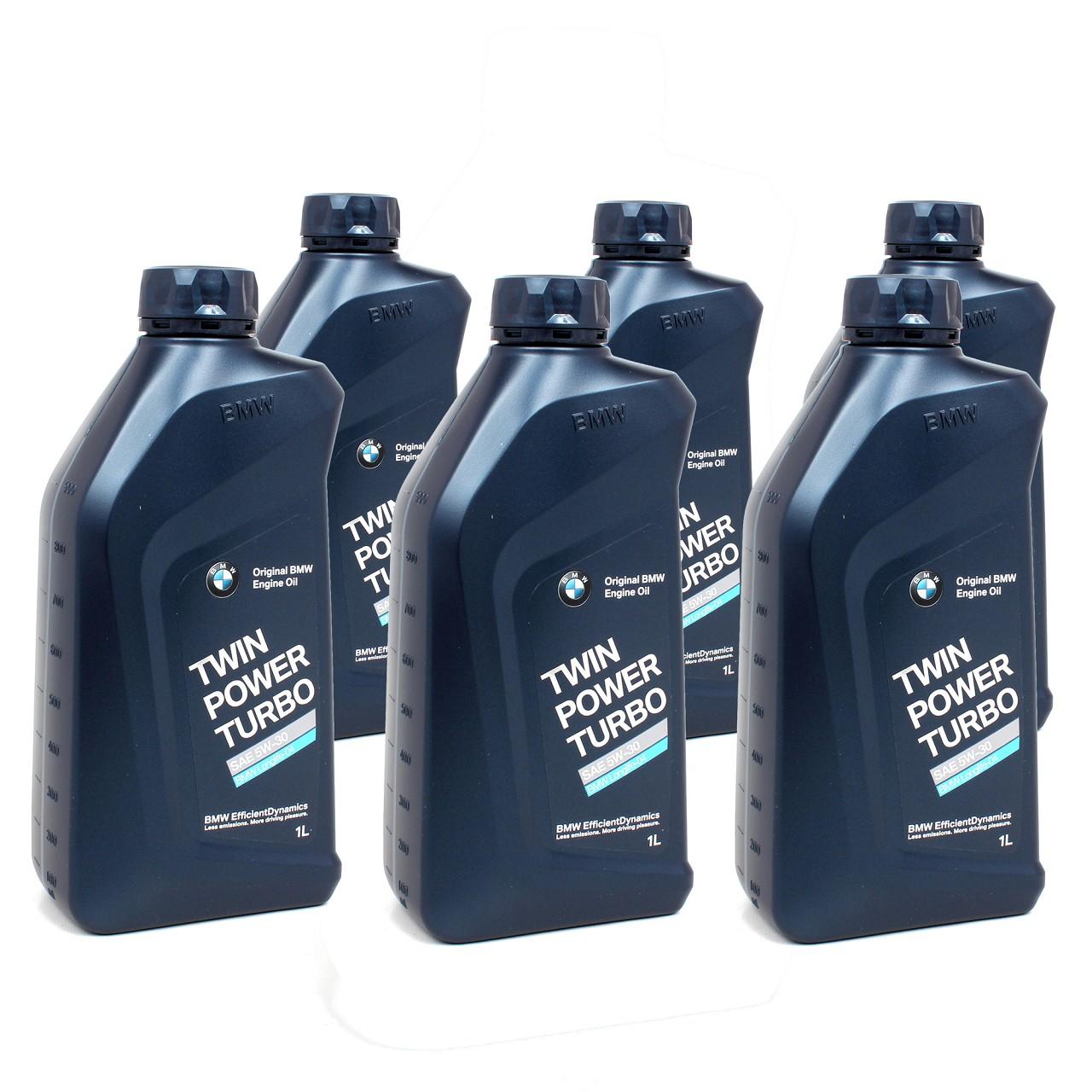 ORIGINAL BMW Motoröl Öl 5W30 Twin Power Turbo LongLife-04 6 Liter 83212465849