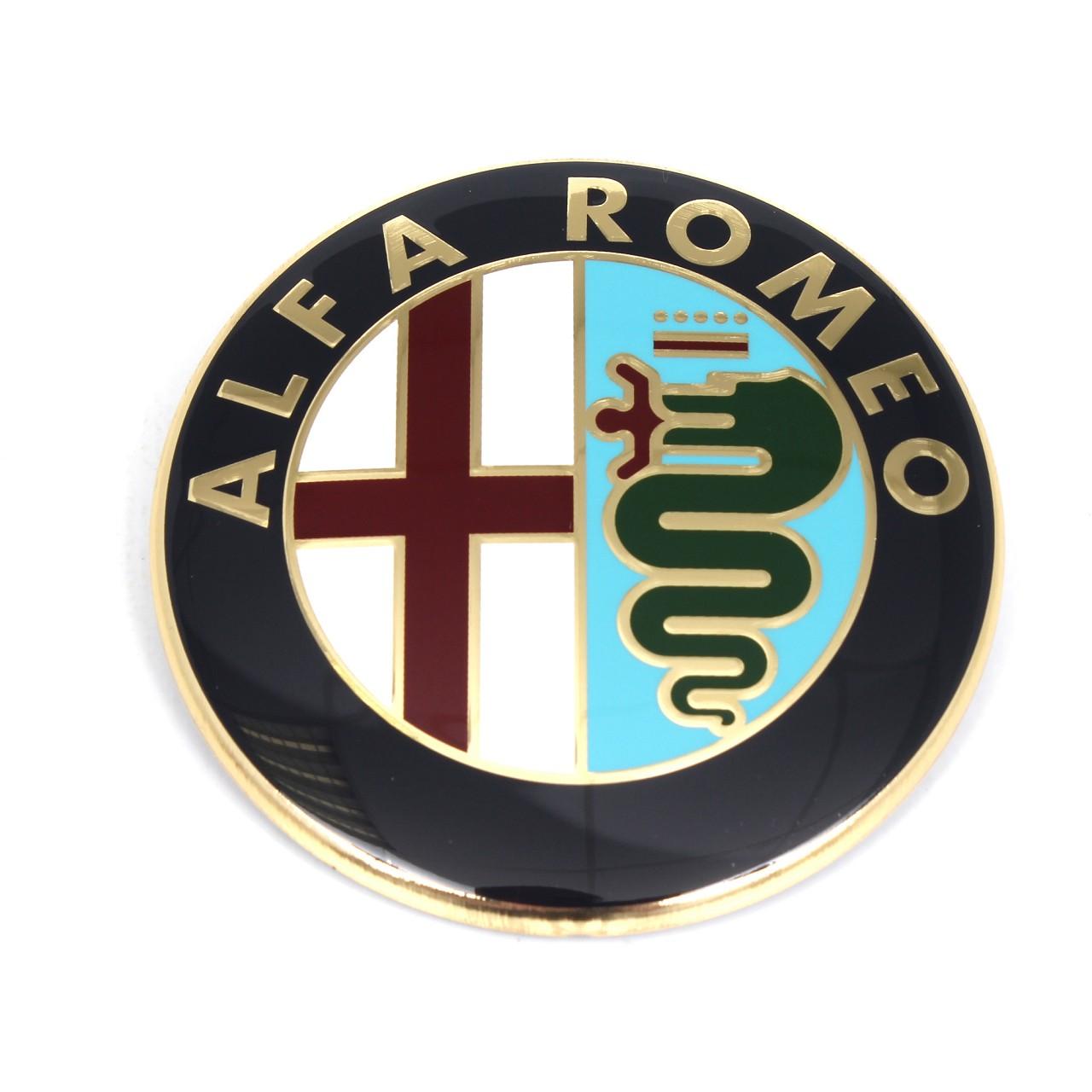 ORIGINAL Alfa Romeo Emblem Logo Plakette 147 156 Heckklappe hinten 156048134