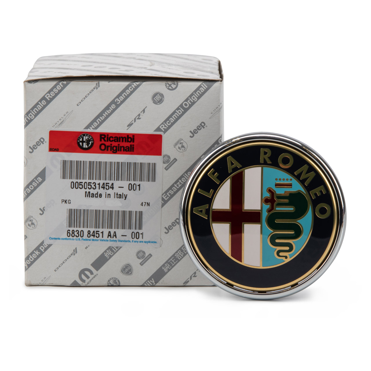 ORIGINAL Alfa Romeo Emblem Logo Heckklappe 159 (939) MITO (955) 505314541