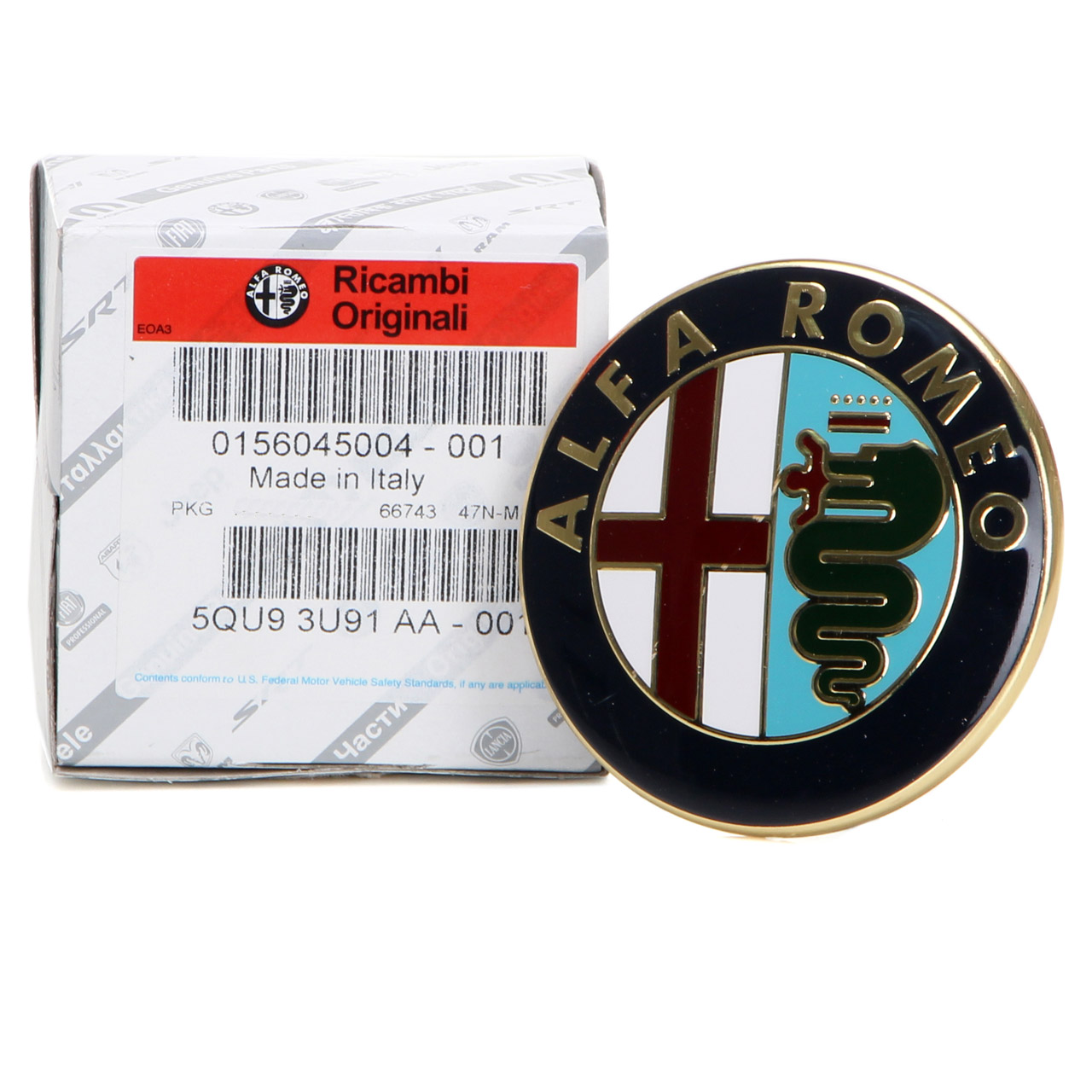 ORIGINAL Alfa Romeo Emblem Logo 145 146 (930) 155 (167) 156 (932) 164 60596492