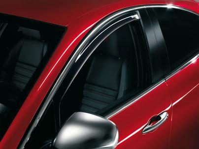 ORIGINAL Alfa Romeo Windabweiser Seitenfenster Satz GIULIETTA 940 vorne 71805867