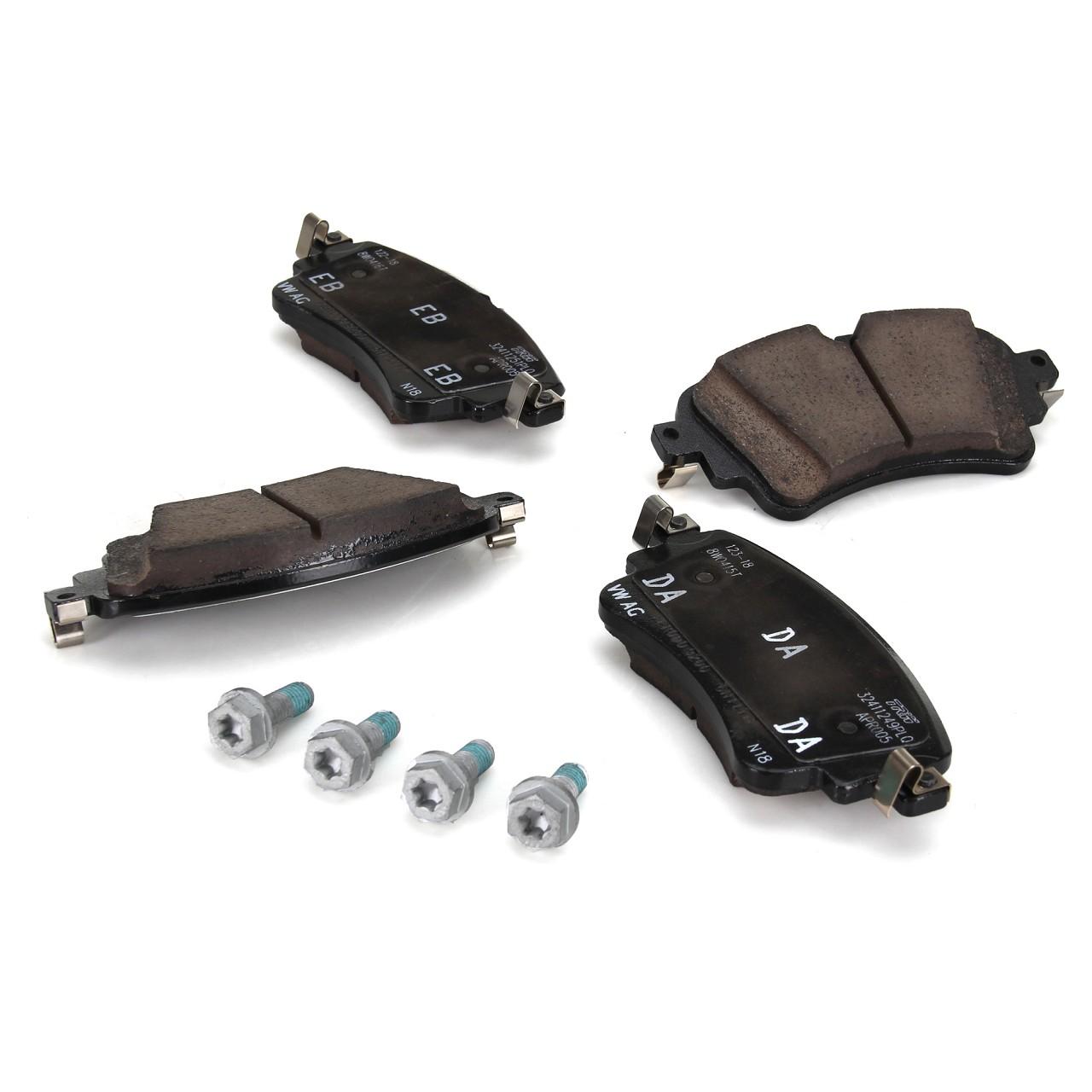 ORIGINAL Audi Bremsen Kit Bremsscheiben + Beläge + Wako A4 (8W B9) PR-1KJ hinten