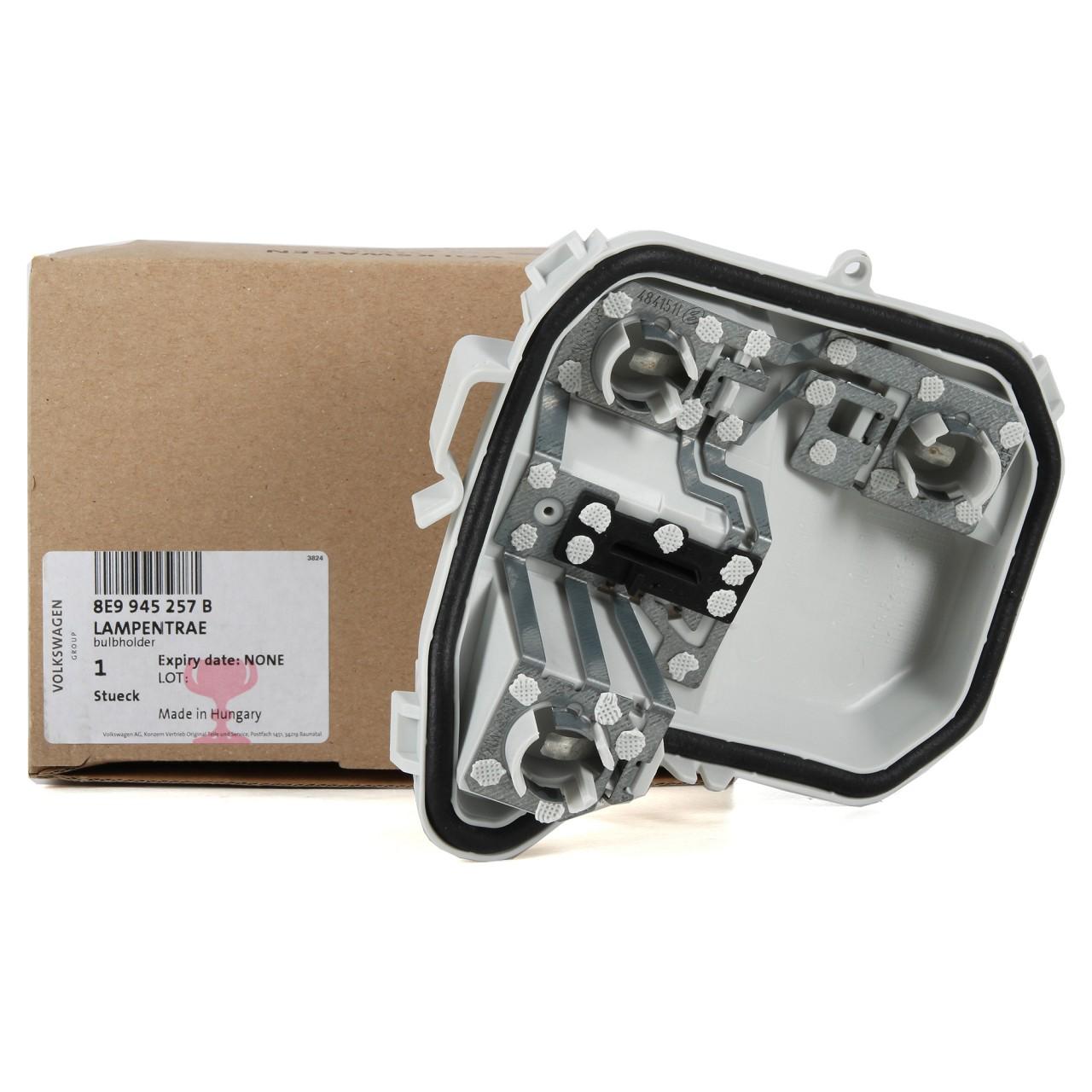 ORIGINAL Audi Lampenträger A4 AVANT (8E B7) HINTEN AUSSEN LINKS 8E9945257B