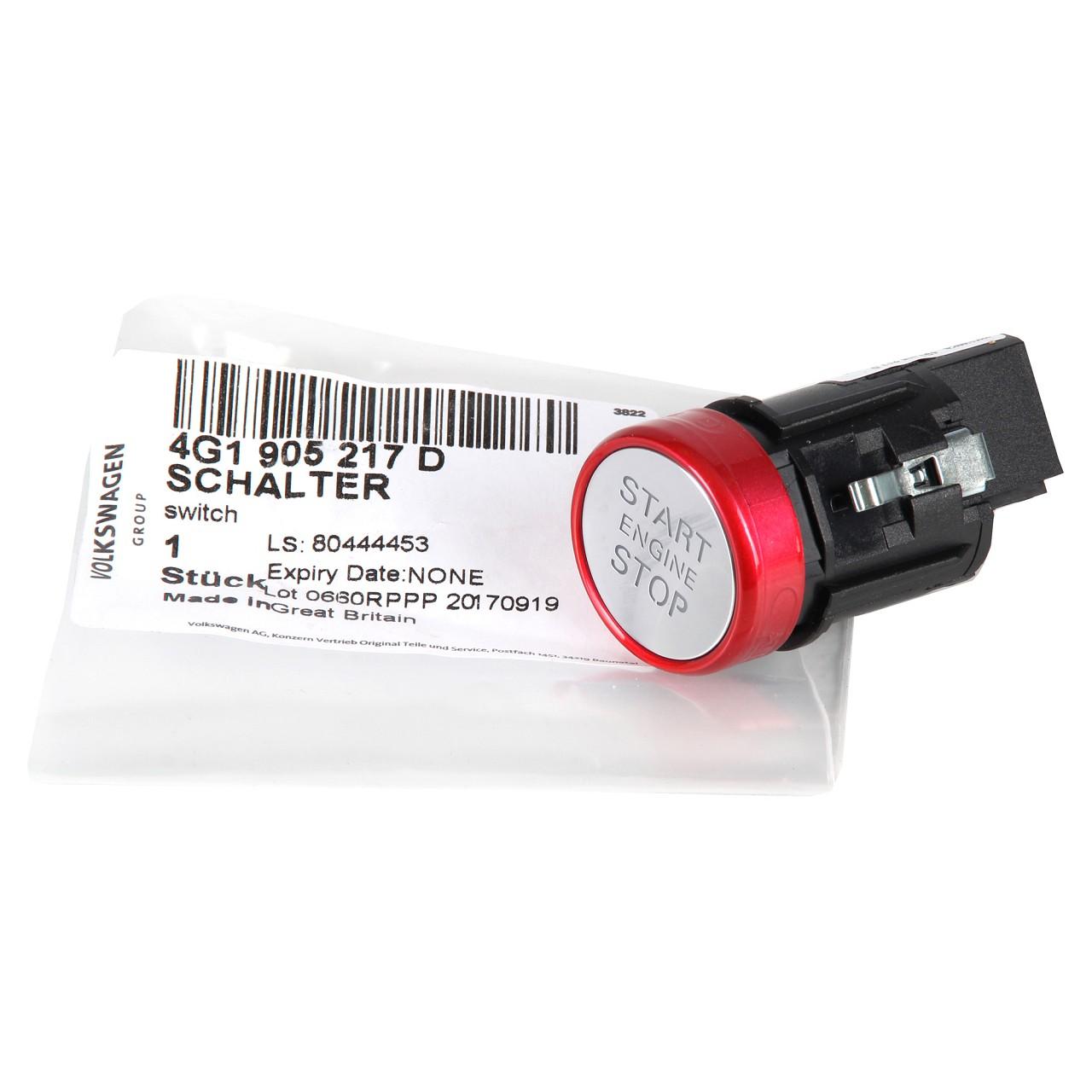 ORIGINAL Audi Start-Stop Schalter A6 S6 RS6 (4G C7) A7 S7 RS7 (4G) 4G1905217D