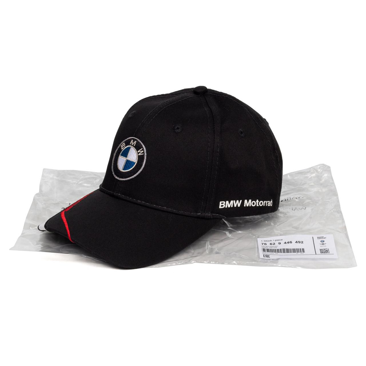 Original BMW Motorrad M Motorsport Kappe Cap schwarz Logo UNISEX 76629446492