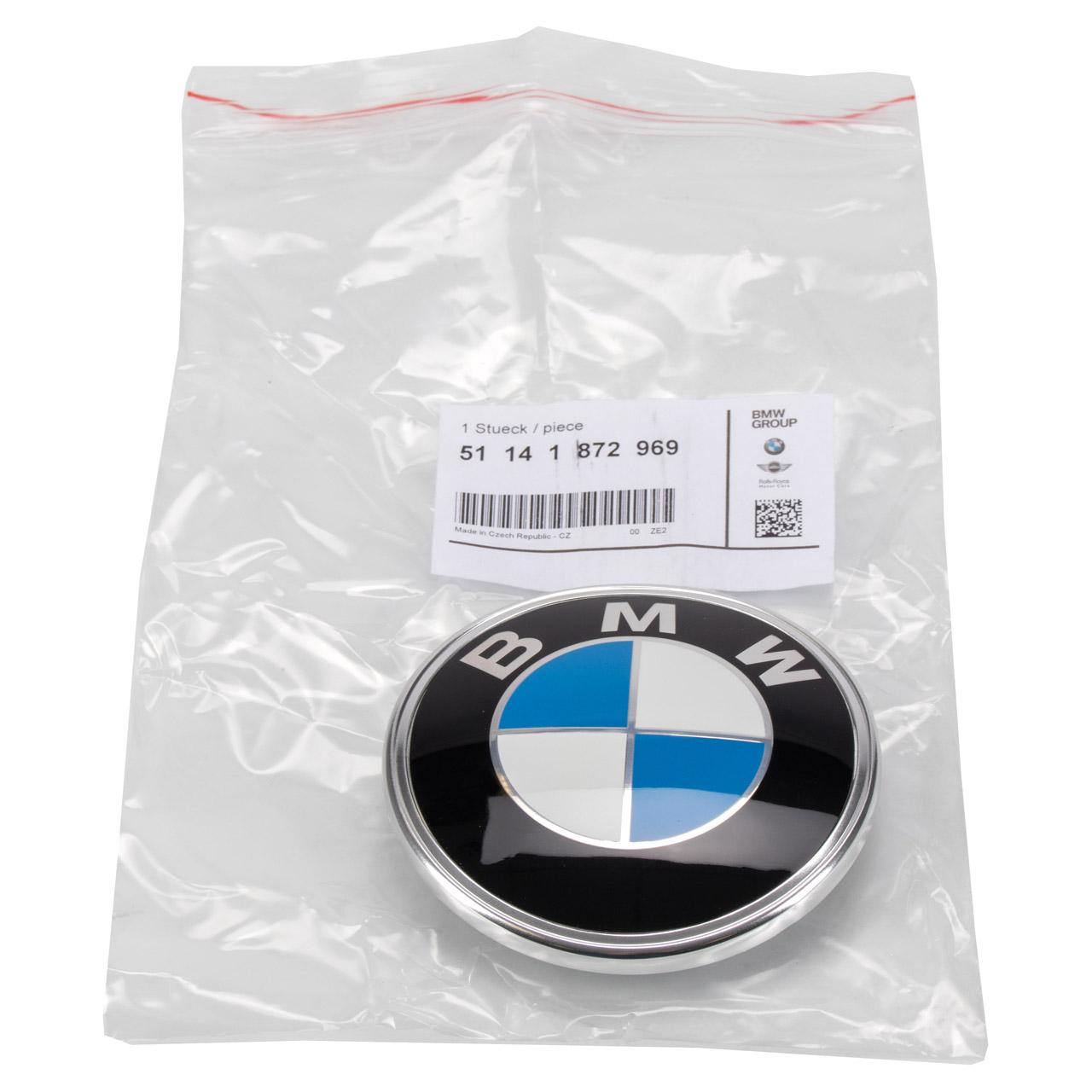 ORIGINAL BMW Emblem Heckklappe Zeichen 3er E30 5er E28 Z3 E36 51141872969