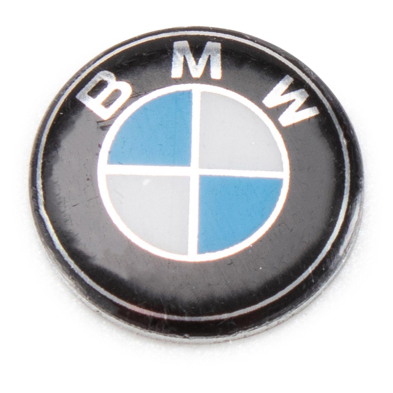 ORIGINAL BMW Schlüsselemblem Emblem Aufkleber für Schlüssel 11 mm 66122155754