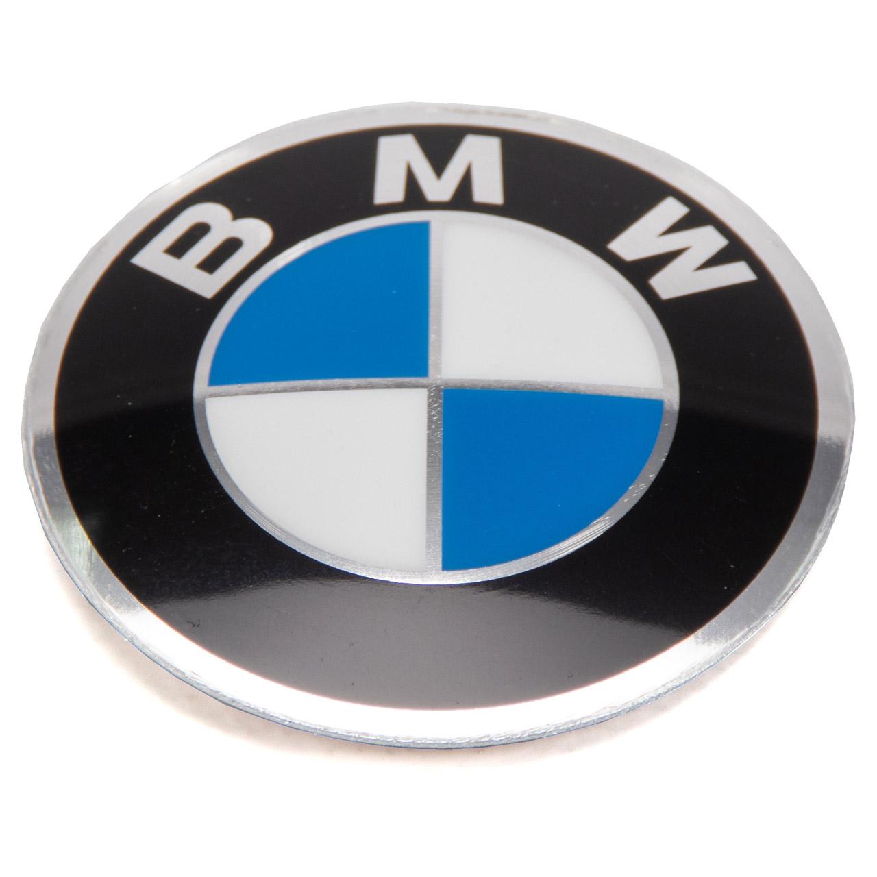 ORIGINAL BMW Nabendeckel Aufkleber Emblem Ø 45 mm 3er E21 E30 36131181082
