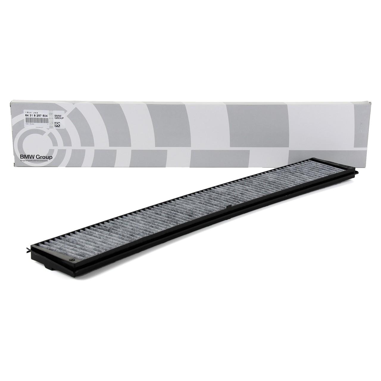 ORIGINAL BMW Innenraumfilter Aktivkohlefilter 64319257504 für 3er E46 X3 E83