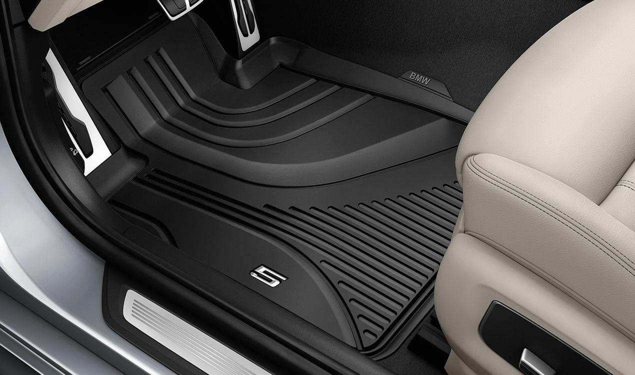 ORIGINAL BMW Gummimatten Fußmatten Satz 3er G30 F90 G31 vorne 51472414218