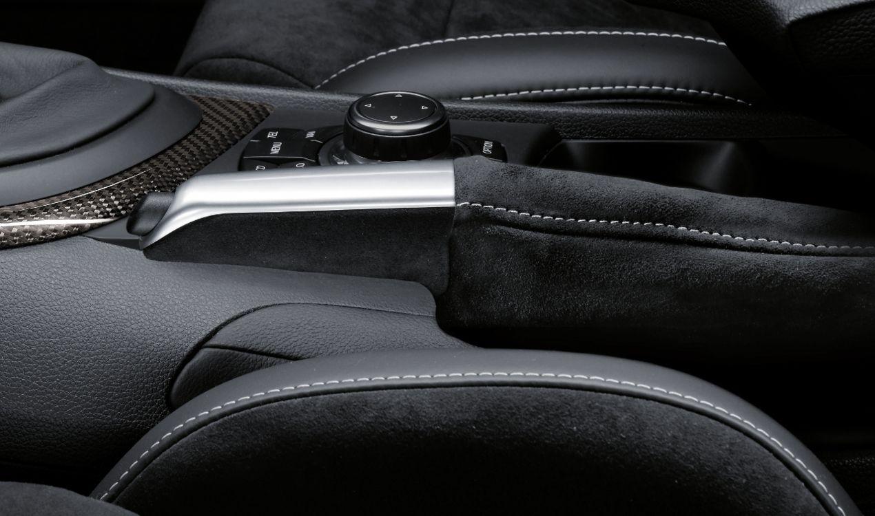 ORIGINAL BMW M Performance CHROM Handbremsgriff mit Alcantara Balg 3er E90-93 34402153755