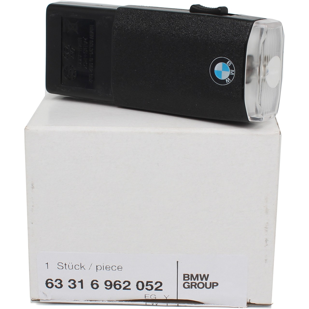 ORIGINAL BMW Taschenlampe Handleuchte Handschuhfach aufladbar 63316962052