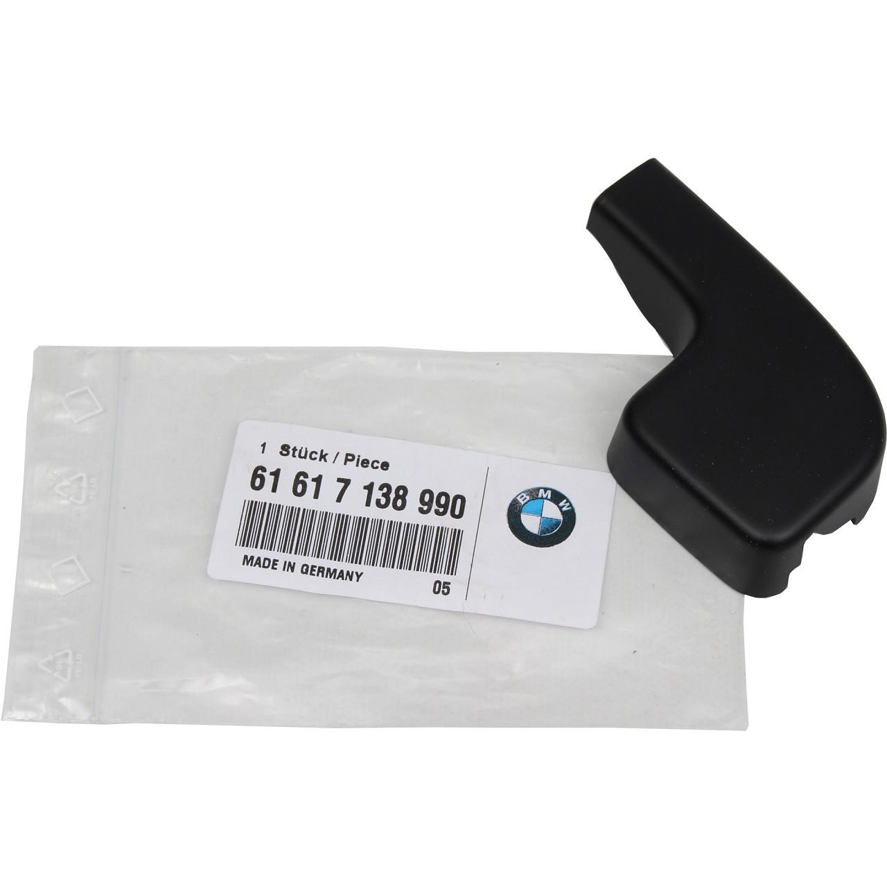 ORIGINAL BMW Abdeckkappe Wischerarm 3er E90 E91 E92 E93 vorne 61617138990