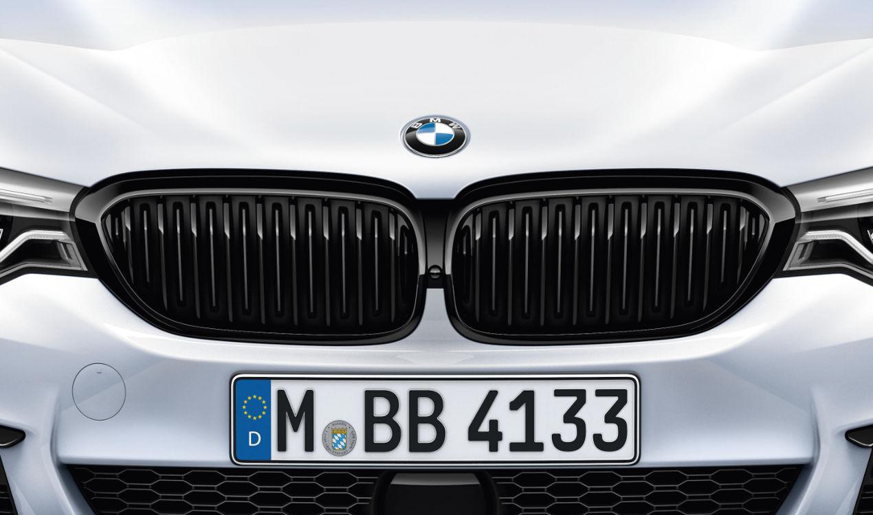 ORIGINAL BMW M Performance Kühlergrill Niere SCHWARZ 5er G30 G31 links 51712430993