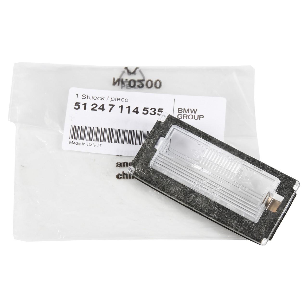 ORIGINAL MINI Lichtscheibe Abdeckung Kennzeichenleuchte R50 R53 R52 51247114535