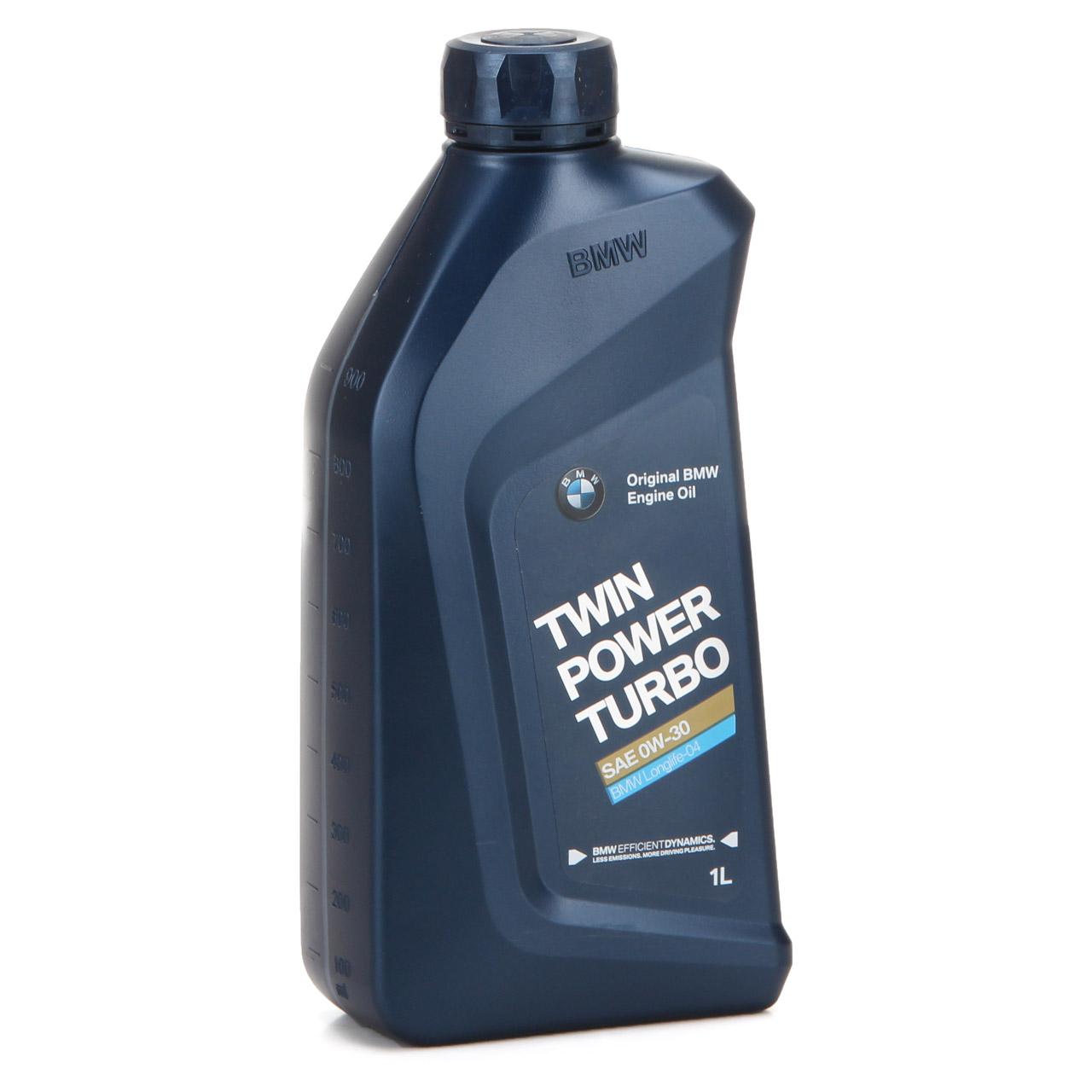 ORIGINAL BMW Motoröl Öl 0W30 Twin Power Turbo LongLife-04 1 Liter 83212465854