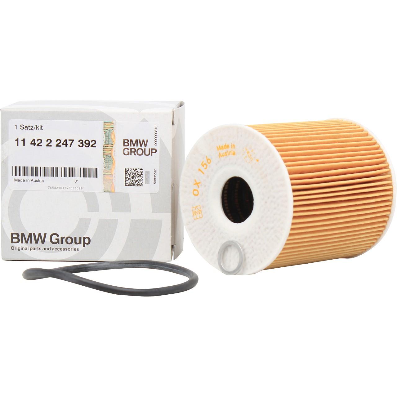 ORIGINAL BMW Ölfilter Motorölfilter inkl. Dichtung 3er 5er 7er 11422247392