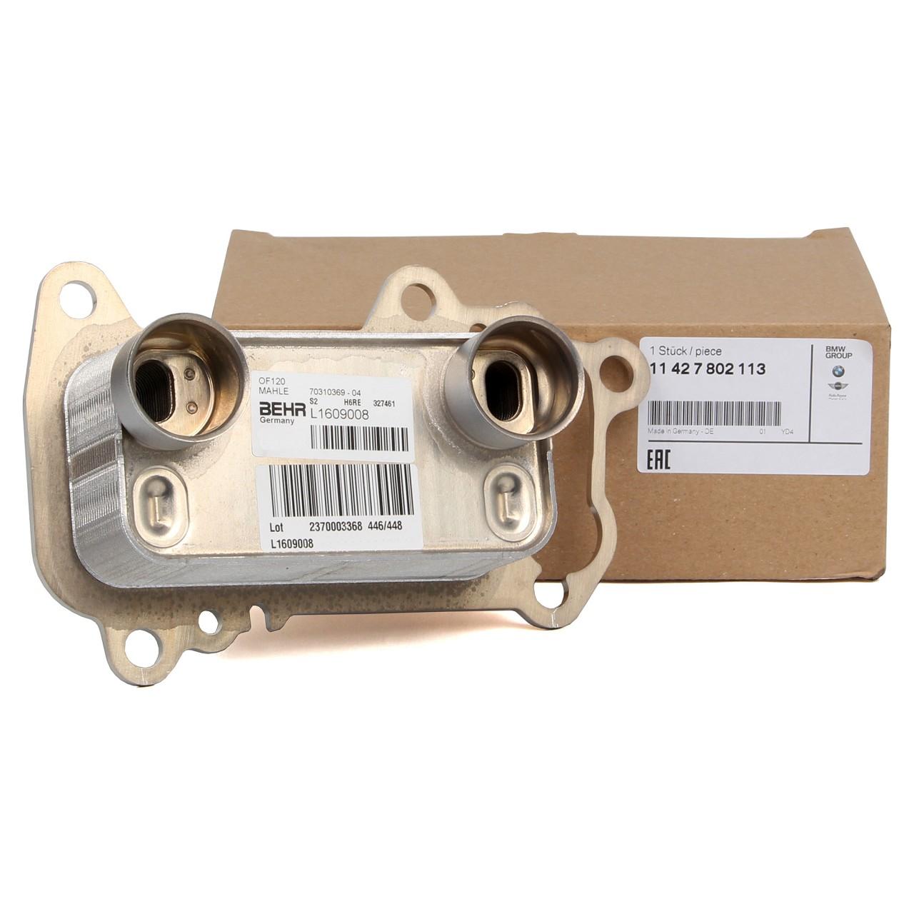 ORIGINAL BMW Ölkühler Kühler 1er 116-123d 3er 316-320d 5er 520d 11427802113