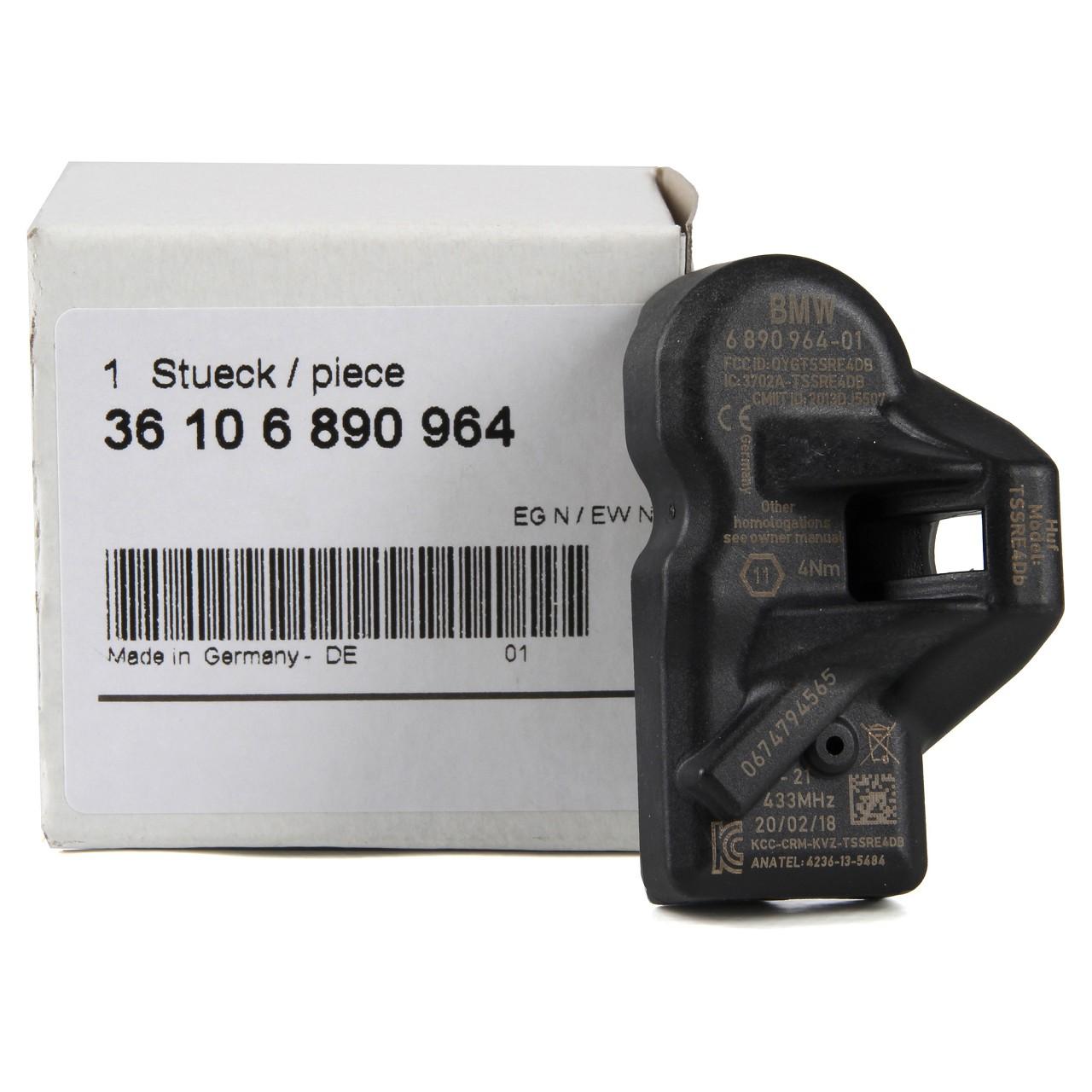 ORIGINAL BMW Mini RDKS Reifendrucksensor 36106890964 für 5er 6er 7er X1 R60 R57