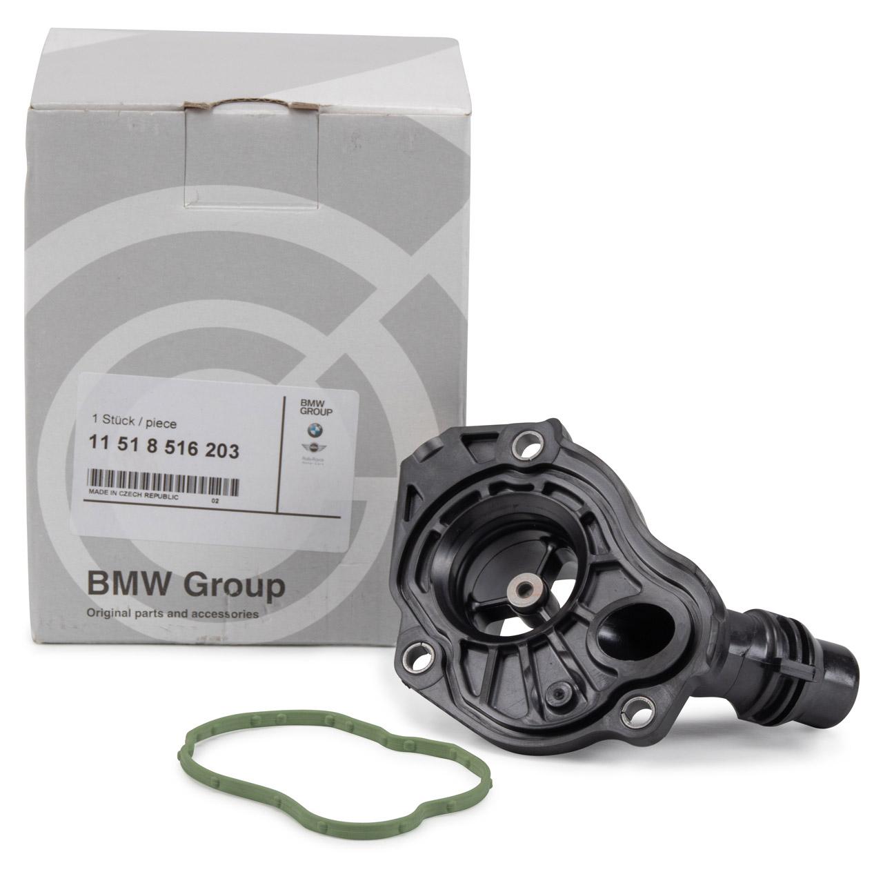 ORIGINAL BMW Thermostatgehäuse Kühlmittelflansch 1er 2er 3er 4er 5er 11518516203