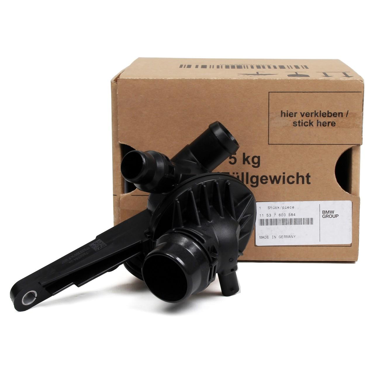 ORIGINAL BMW Thermostat + Thermostatgehäuse 11537600584 für F20 F21 F30 F31