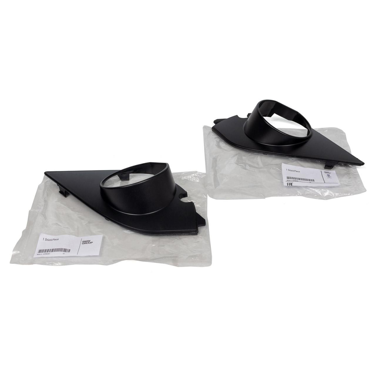 ORIGINAL BMW Abdeckung Nebelscheinwerfer Satz M Paket 5er E60 E61 links + rechts