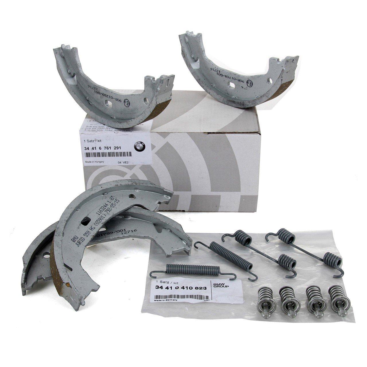 ORIGINAL BMW Bremsbacken + Federn Satz E81-E88 F20 F21 E46 F90-E93 Z4 E86