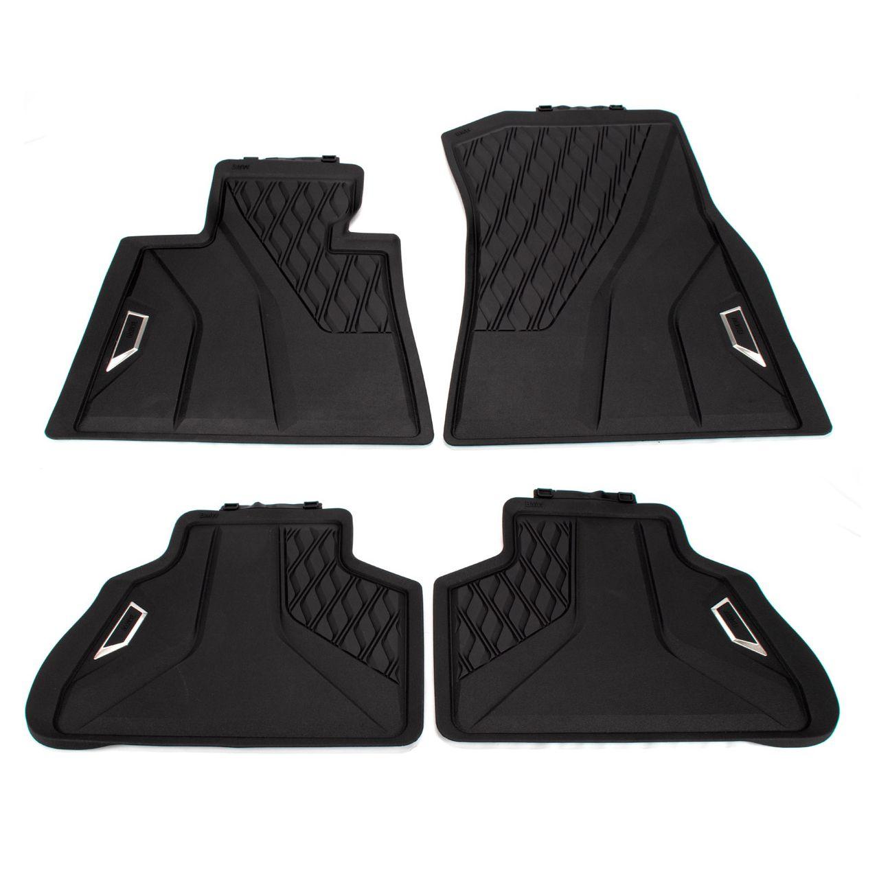 ORIGINAL BMW Gummimatten Fußmatten Automatten Set X5 G05 F95 vorne + hinten