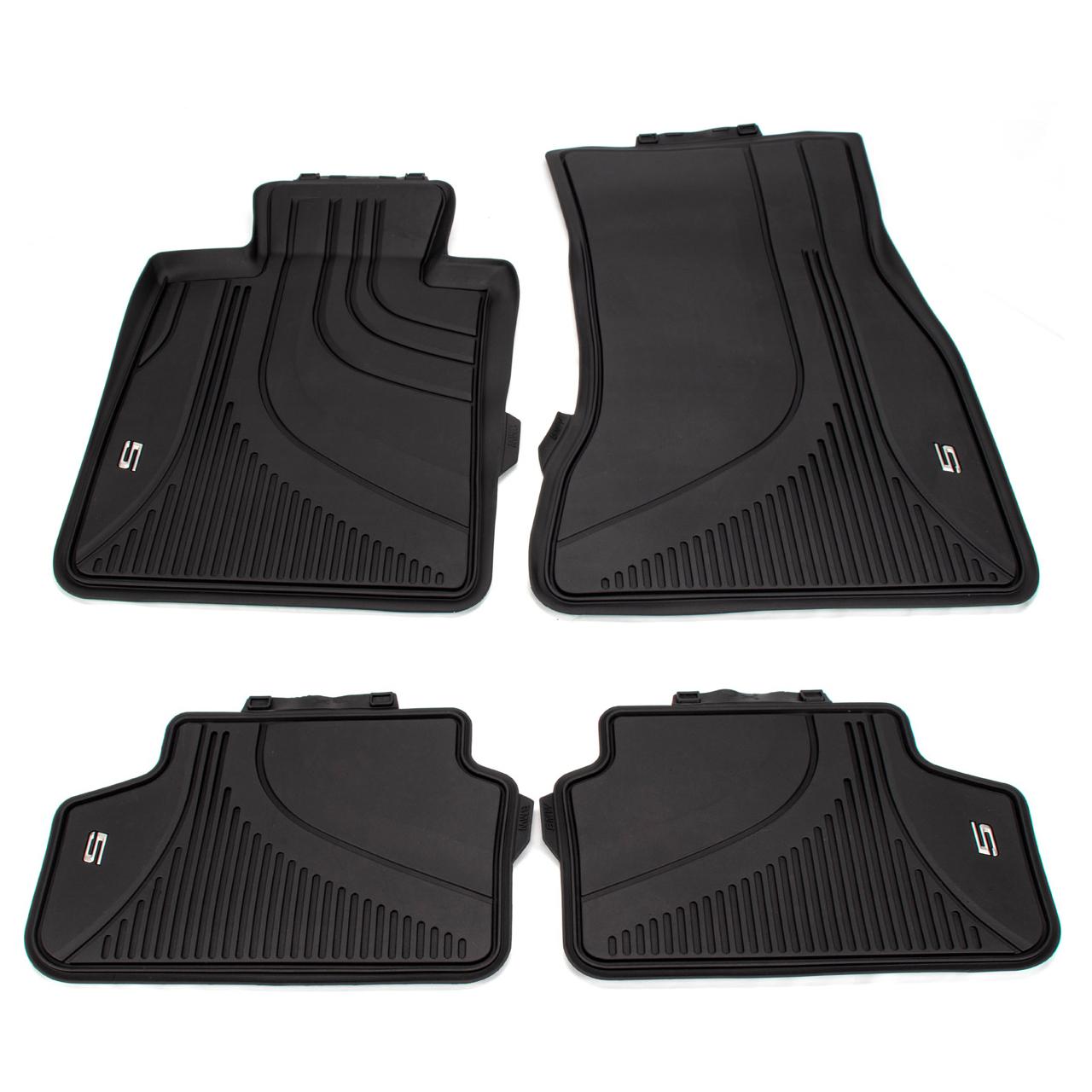 ORIGINAL BMW Gummimatten Fußmatten Allwetter Set 5er G30 F90 G31 vorne + hinten