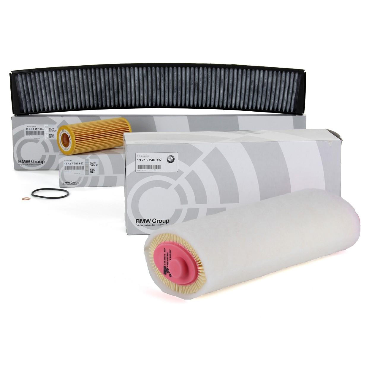 ORIGINAL BMW Inspektionskit Filterpaket 3er E46 318d 115/116 PS 320d 150 PS