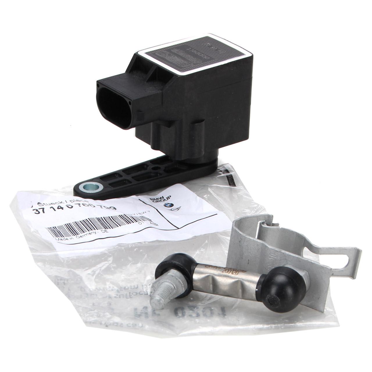 ORIGINAL BMW Regelstange + Niveausensor Xenonlicht Leuchtweitensensor X5 E53