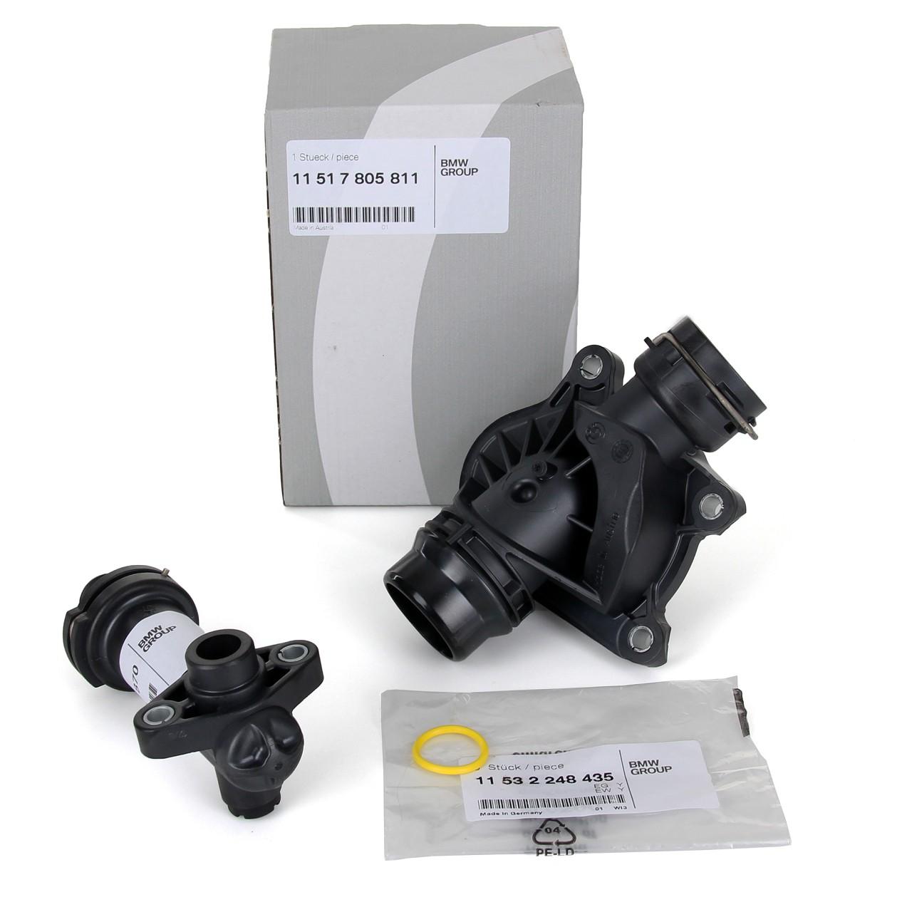 ORIGINAL BMW Thermostat + AGR Thermostat + Dichtung E81/87 E46 E90-93 E60/61 X3