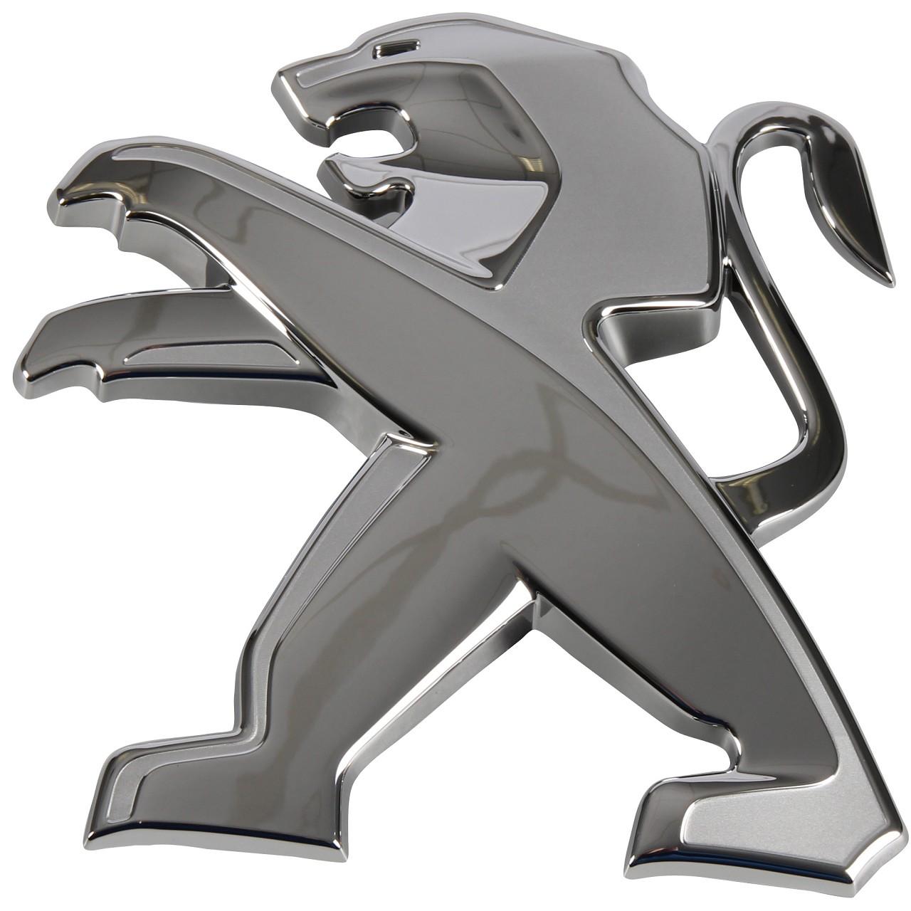 ORIGINAL Peugeot Emblem Logo Plakette VORNE 9678108480 für 3008 308 II 5008 807