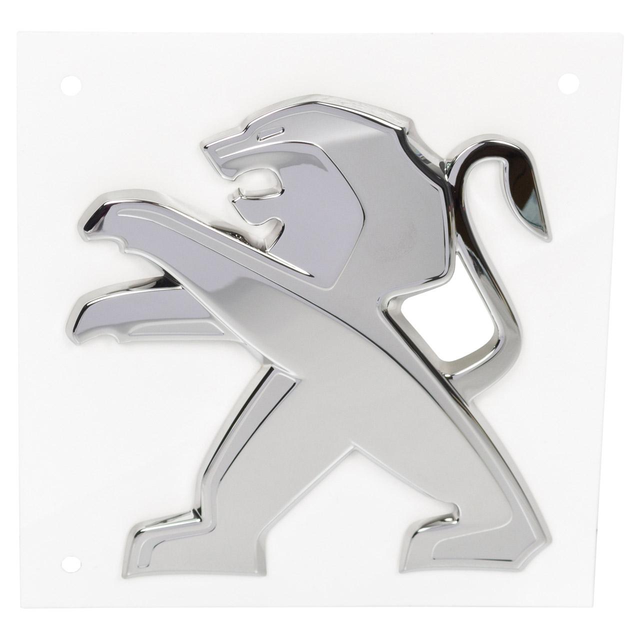 ORIGINAL Peugeot Emblem Logo Stoßstange 508 II 508 SW II Partner Rifter vorne 98303341DX