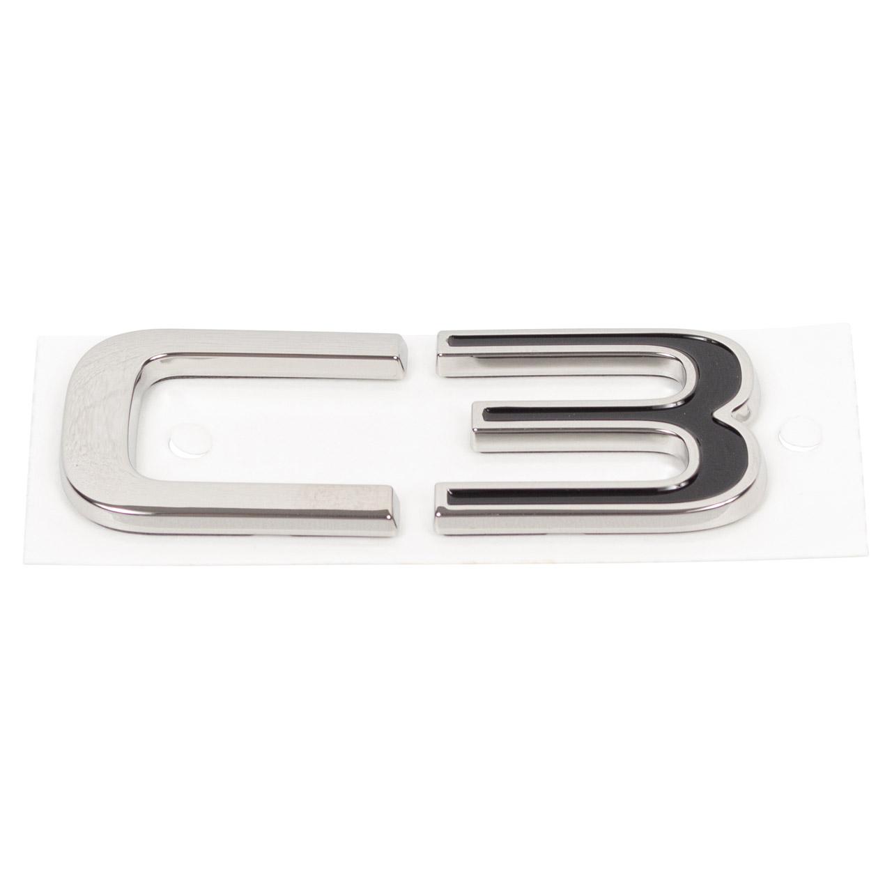 ORIGINAL Citroen Emblem Logo Schriftzug Fahrzeugheckklappe C3 Aircross 2 YQ00162180