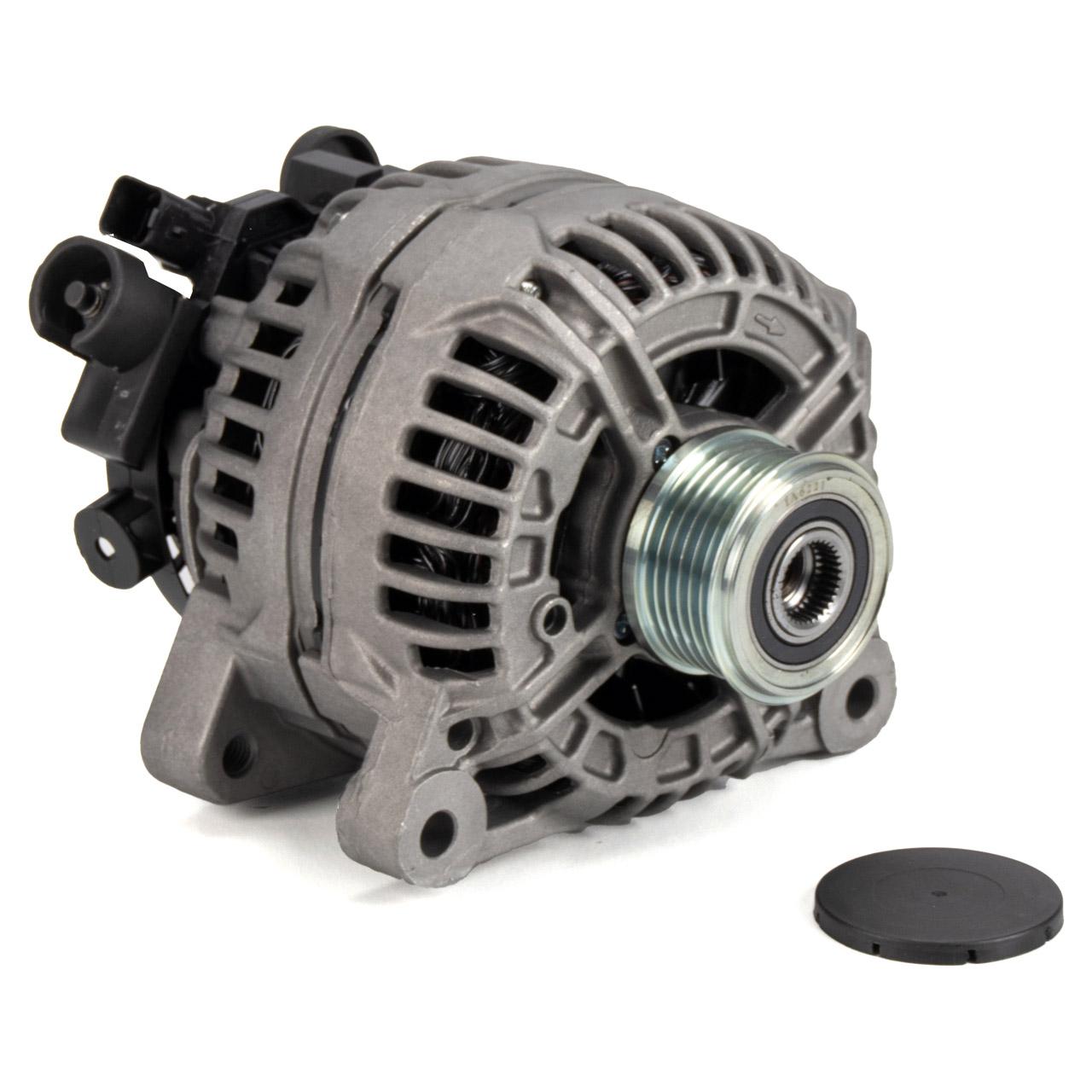 ORIGINAL Citroen Peugeot EUROREPAR Lichtmaschine Generator 12V 180A C3 C4 C5 1638095180