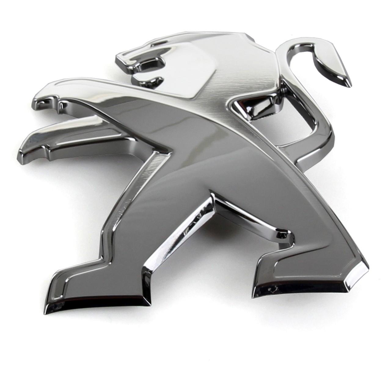 ORIGINAL Peugeot Emblem Plakette Logo LÖWE hinten Heckklappe 9673873280 für 208