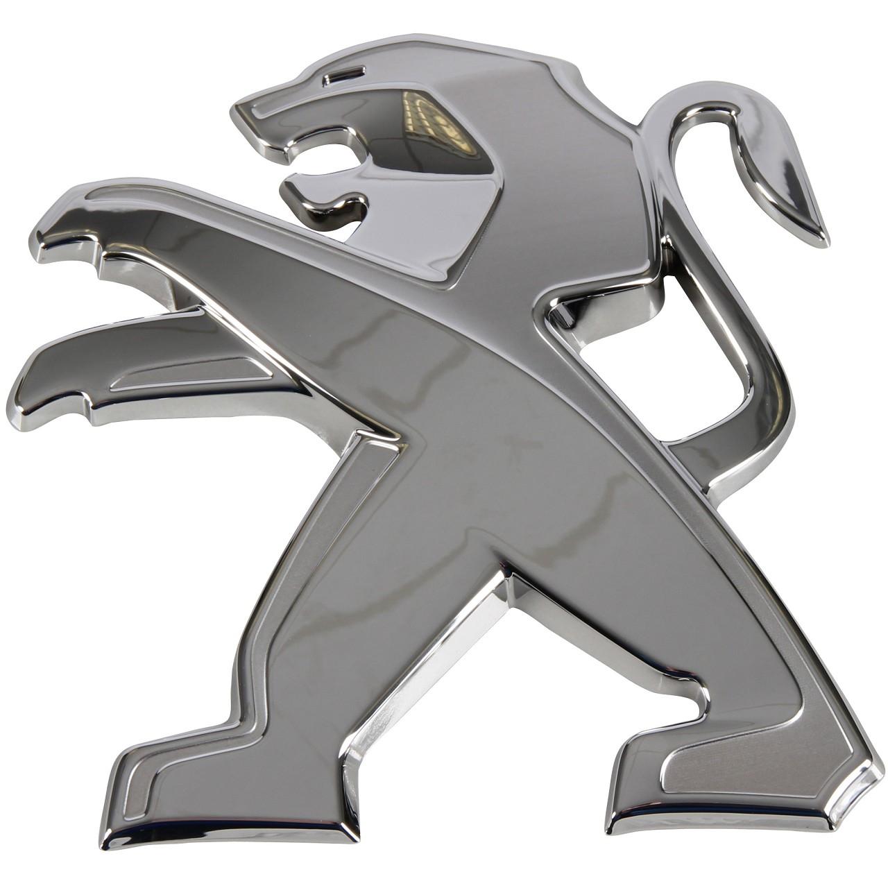 ORIGINAL Peugeot Emblem Logo Plakette Heckklappe 9675703080 für 3008