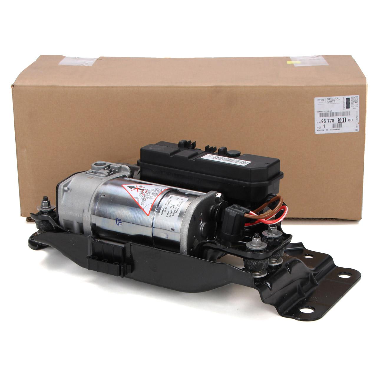 ORIGINAL PSA Kompressor Luftfederung Luftkompressor Jumpy Expert 9677839180