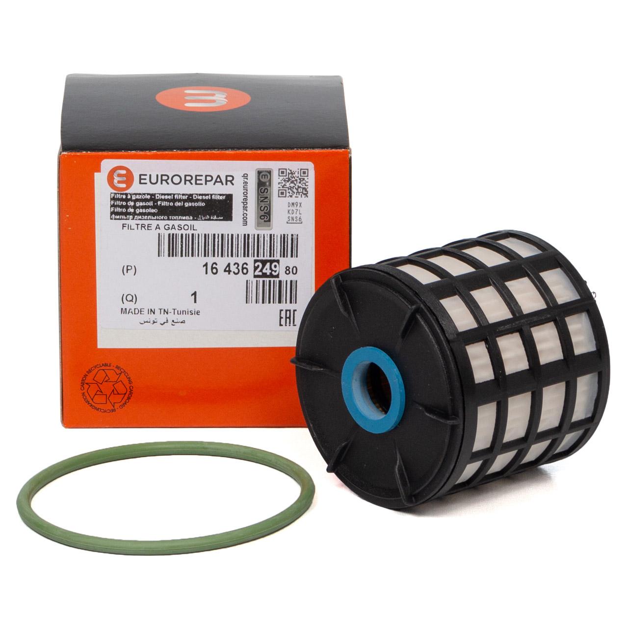 ORIGINAL PSA EUROREPAR Kraftstofffilter Dieselfilter 1.6/2.0 HDi 1643624980