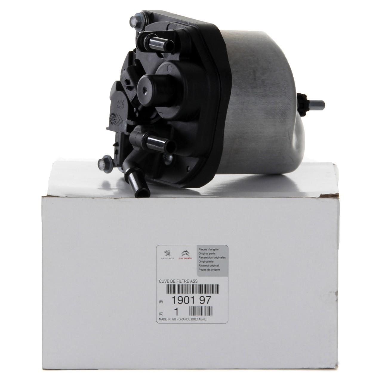 ORIGINAL Citroen Peugeot Kraftstofffilter Dieselfilter 1.4HDi 1.6HDi 1901.97