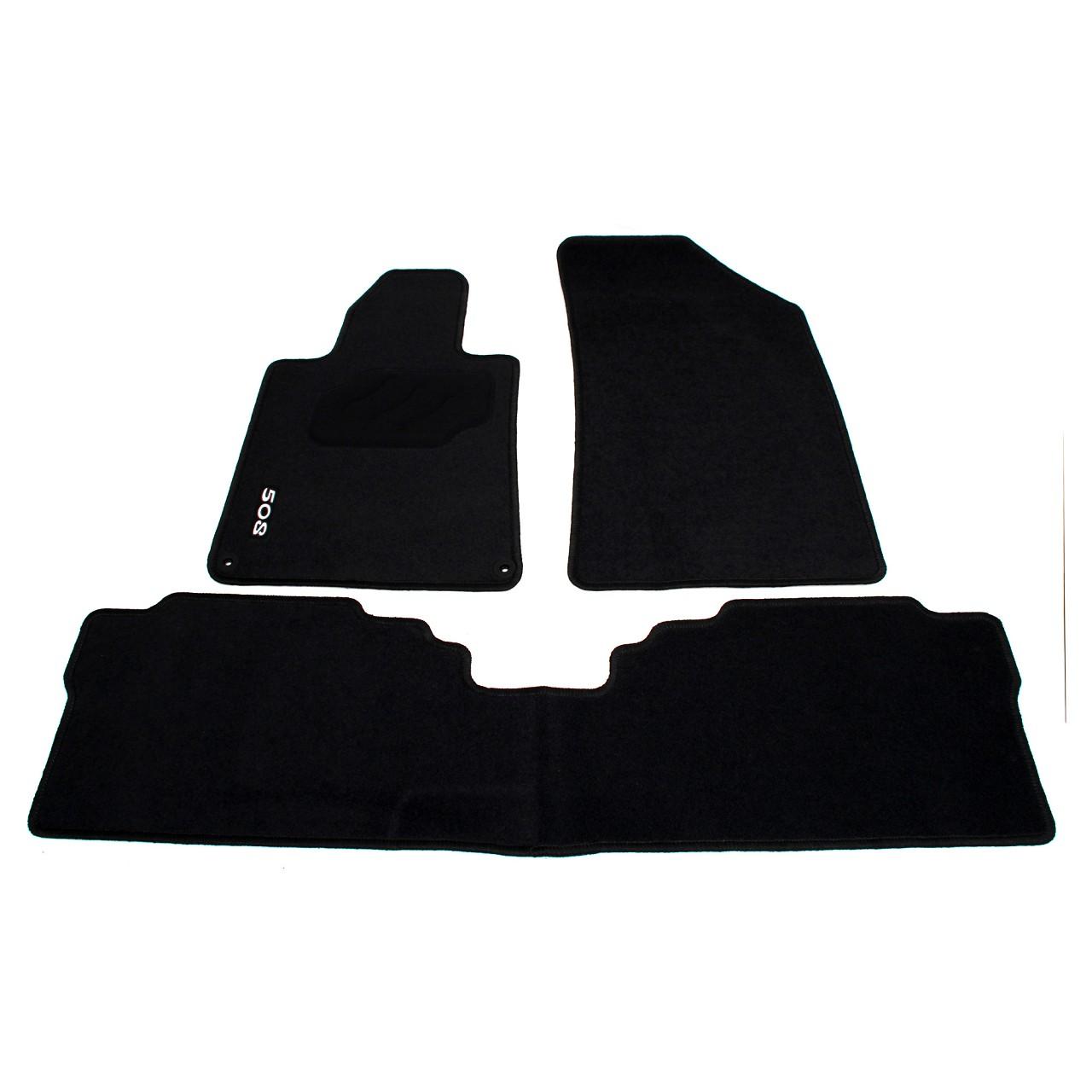 ORIGINAL Peugeot Textilmatten Fußmatten Automatten Satz 3-TEILIG 9464.GH für 508