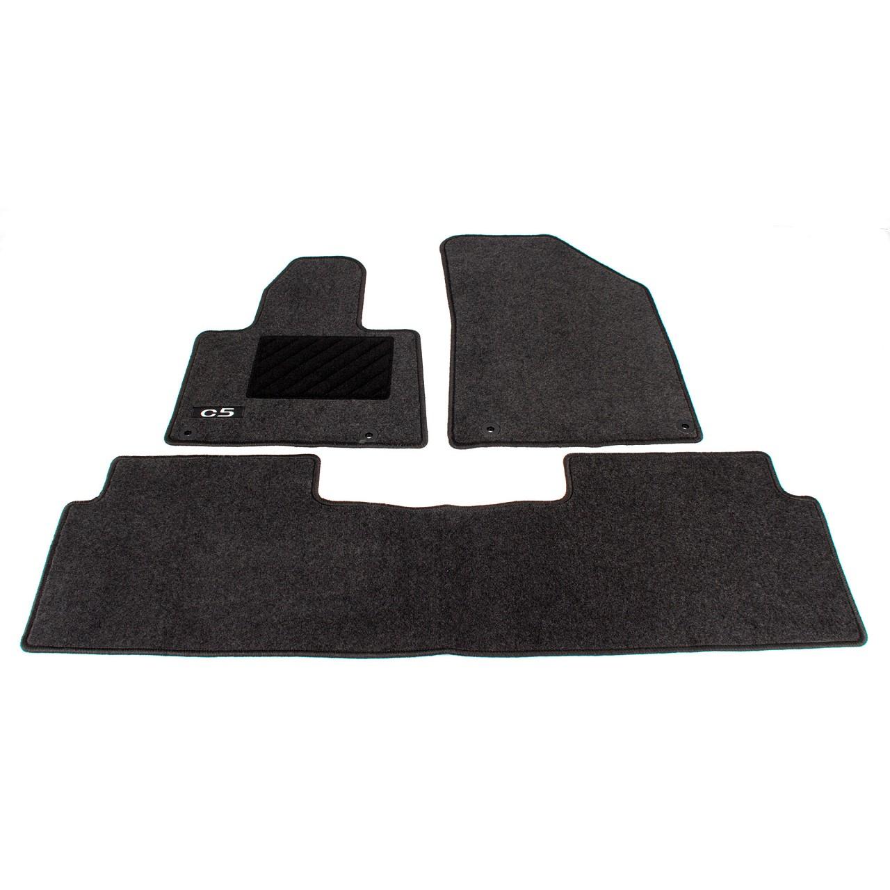 ORIGINAL Citroen Textilmatten Fußmatten Automatten Satz 3-tlg C5 III 9464.Y9