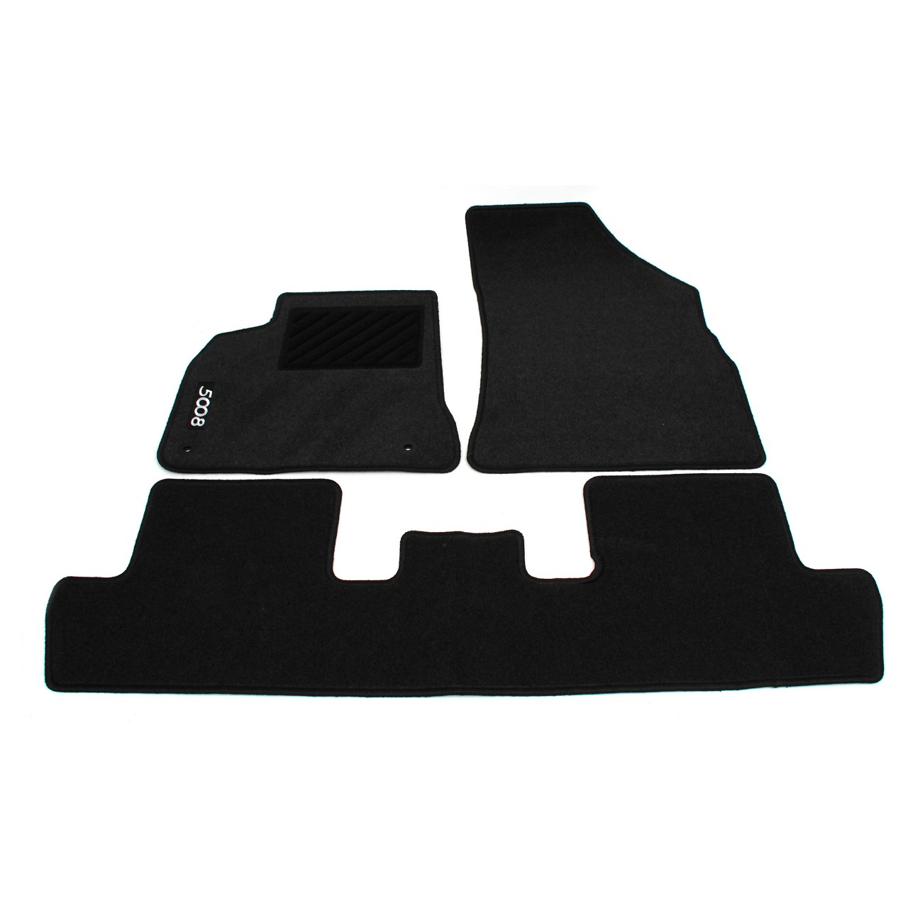 ORIGINAL Peugeot Textilmatten Fußmatten Automatten Satz 5008 3-teilig 9663.J0