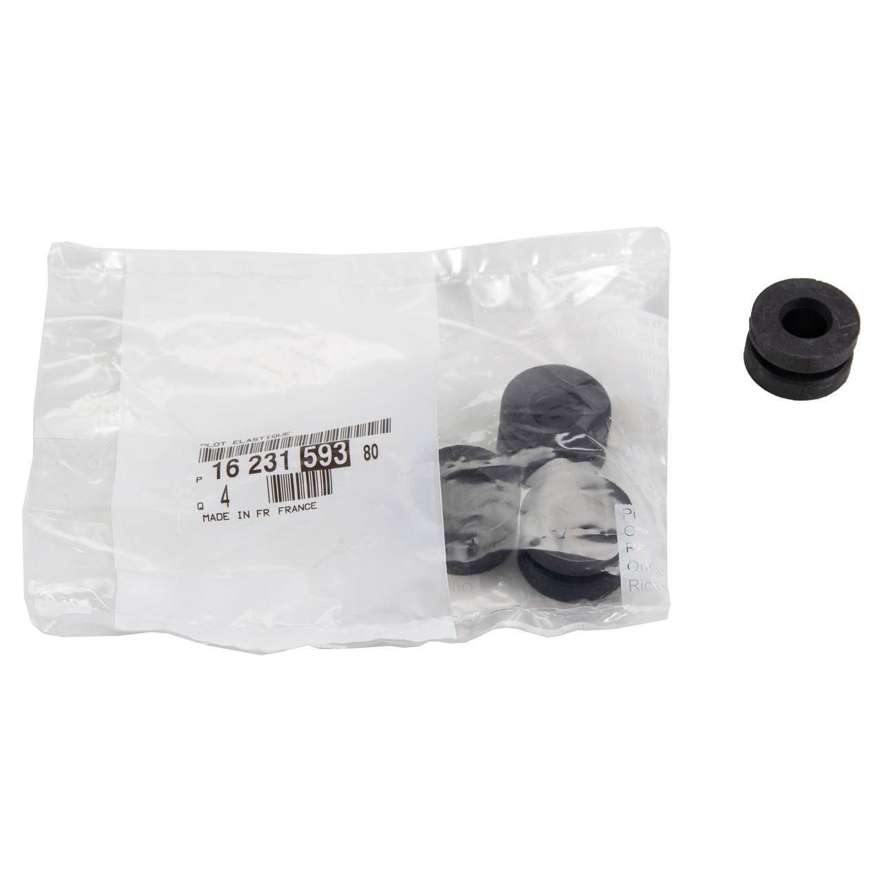 4x ORIGINAL Citroen Peugeot Anschlagpuffer Luftfiltergehäuse C3 308 1623159380