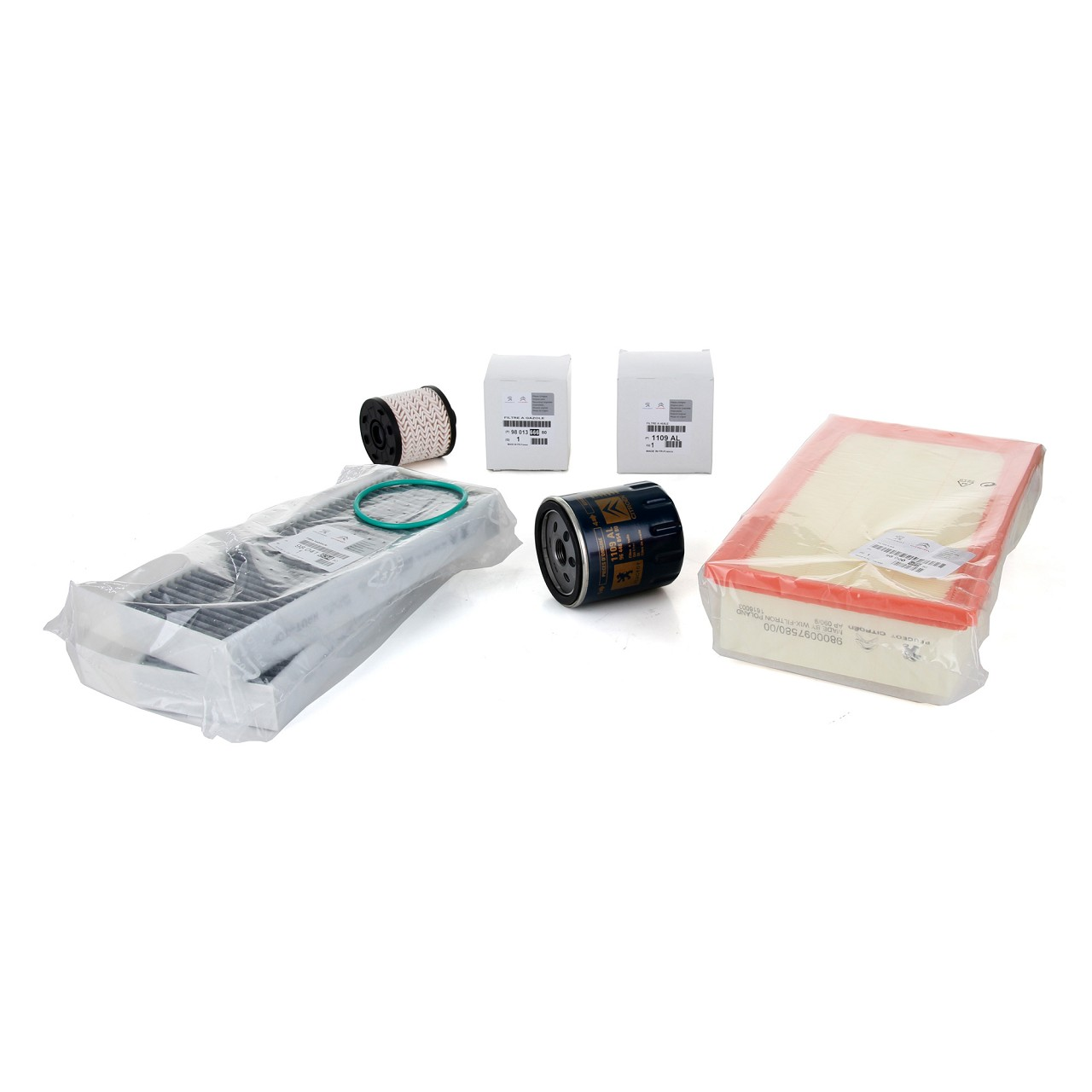 ORIGINAL Peugeot Inspektionskit Filterpaket 308 II / SW II 2.0 HDi 150/181 PS