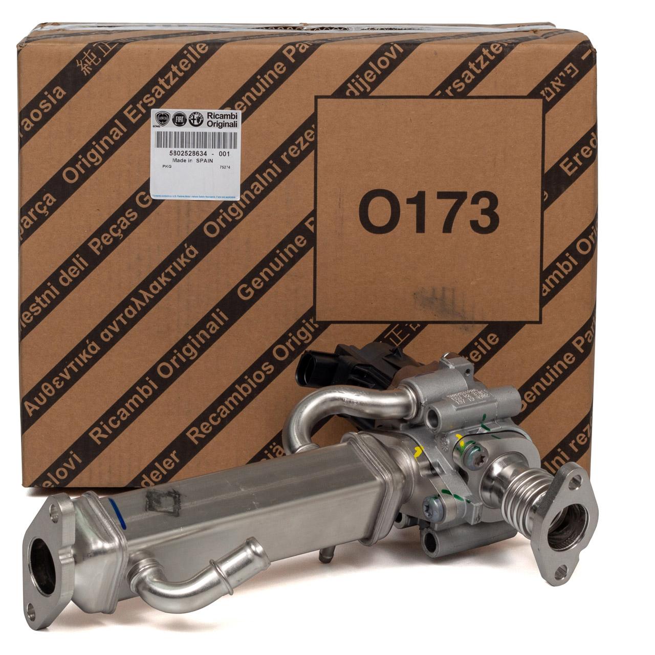 ORIGINAL Fiat AGR Ventil Abgasrückführungsventil Wärmetauscher DUCATO 5802528634