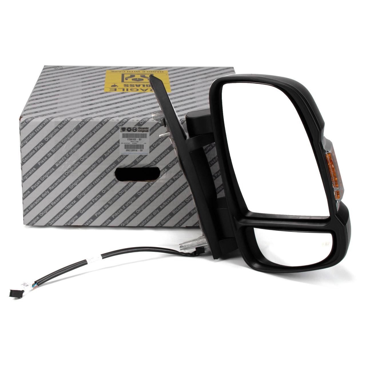 ORIGINAL Fiat Außenspiegel elektrisch DUCATO (250 290) rechts 735661833