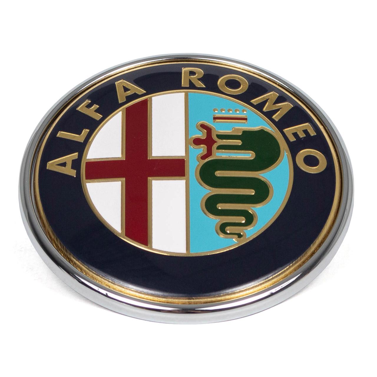 ORIGINAL Alfa Romeo Emblem Logo Kühlergrill 147 GTV Mito Spider vorne 46558973