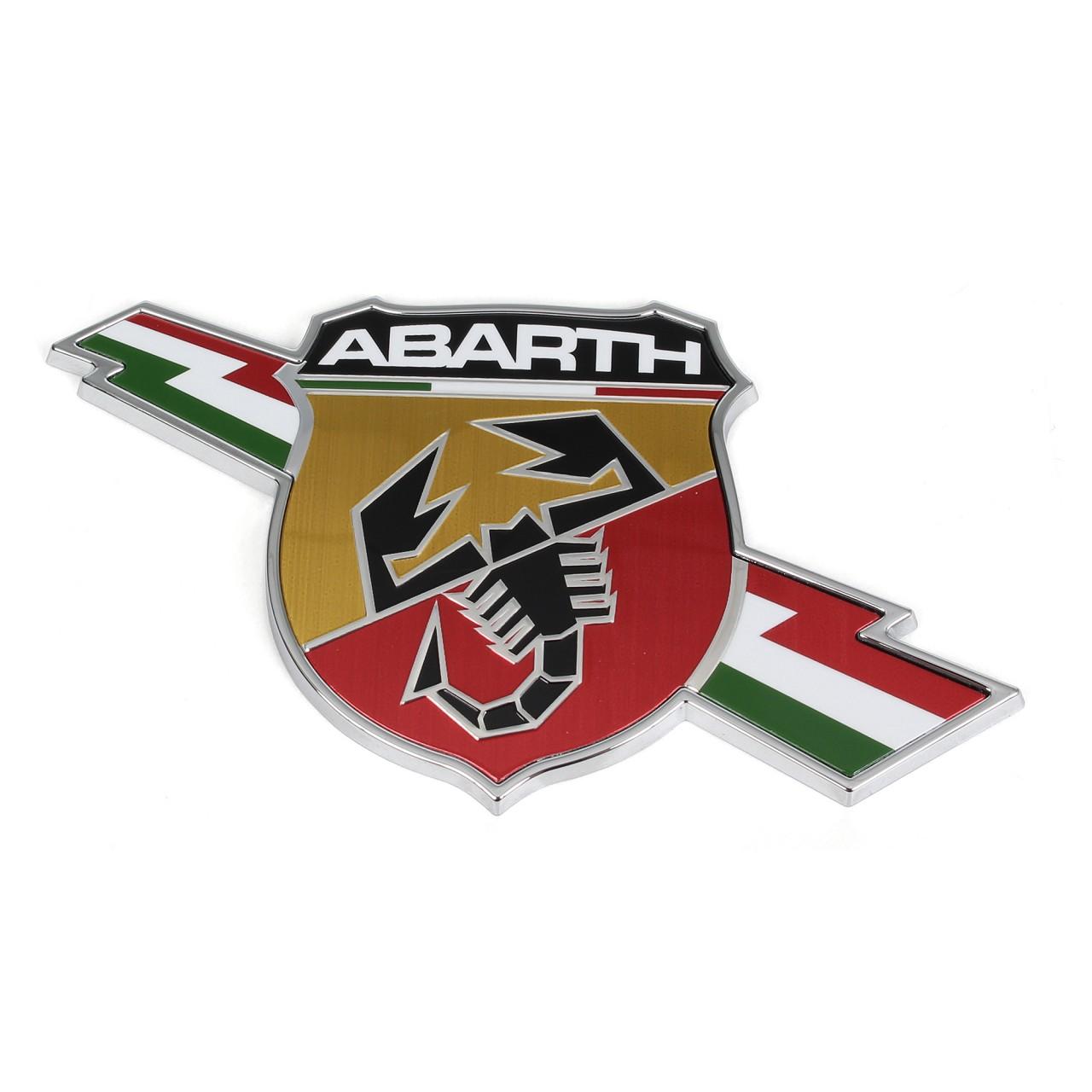 ORIGINAL Fiat Emblem Logo rechts ABARTH 500 (312) GRANDE / PUNTO (199) 735495888
